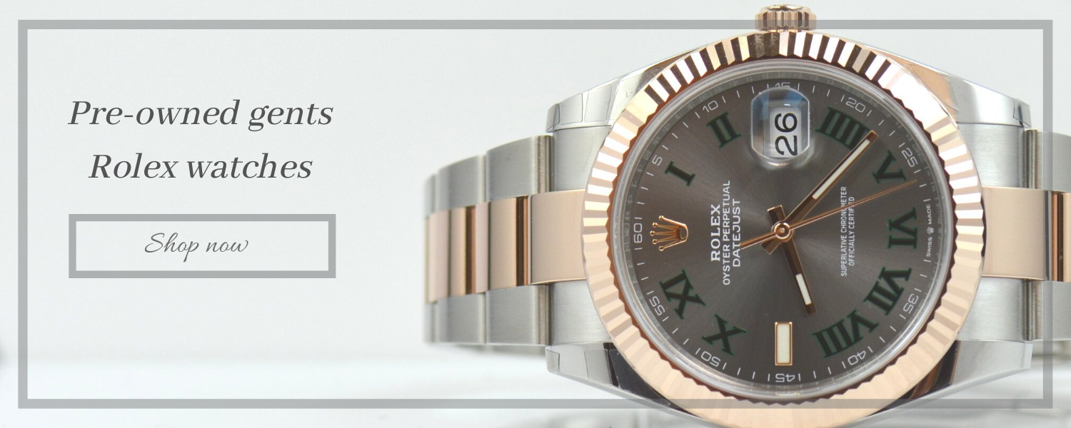 pre-owned gents rolex watches