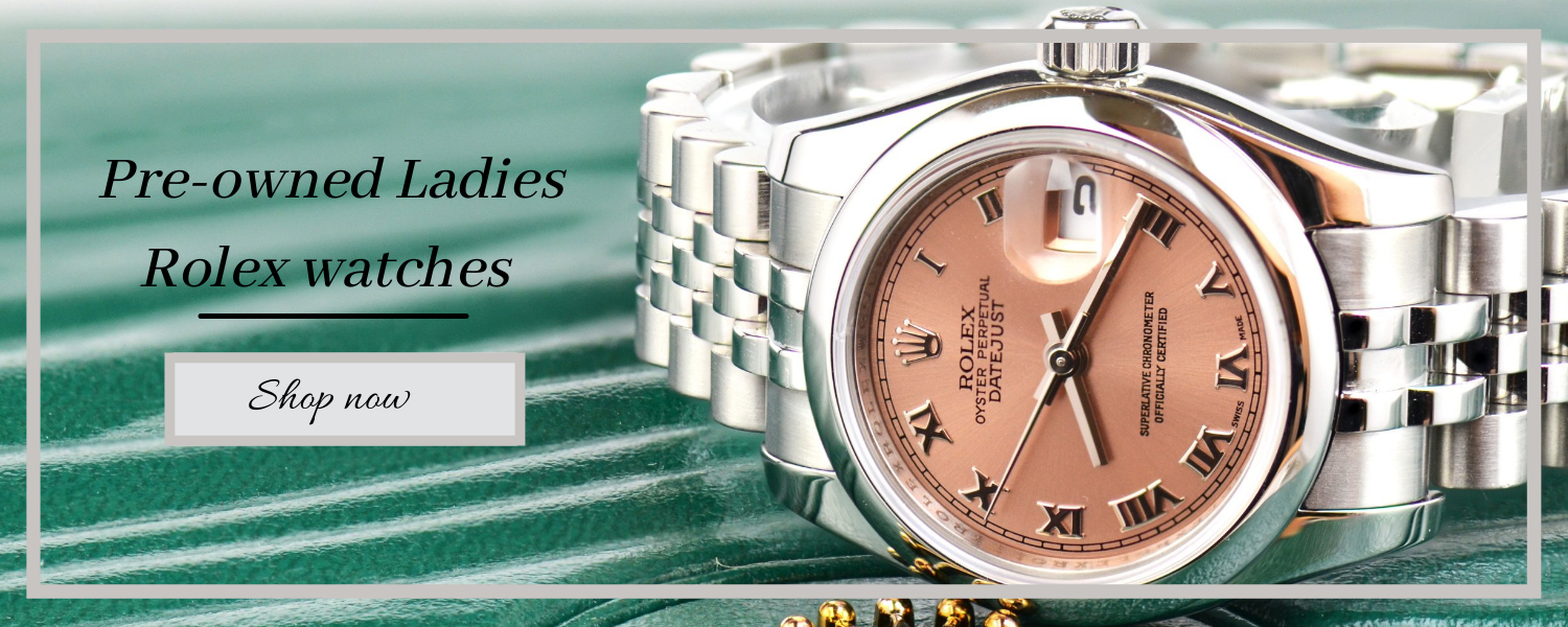 pre-owned ladies rolex watches